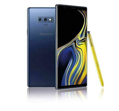 Samsung Galaxy Note 9 N960U (N960 Factory Unlocked) SmartPhone 128GB Blue