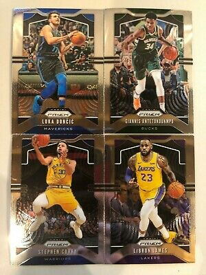 2019-20 PRIZM BASKETBALL YOU PICK Complete Your SET BASE CARDS STARS # 1 to 247