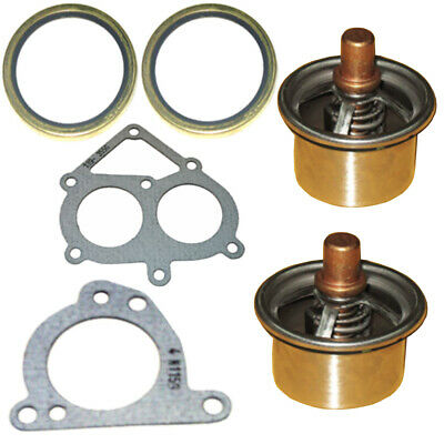 2477133 Thermostat and Gasket Kit fits Caterpillar C15 MBN 6NZ 247-7133 CAT
