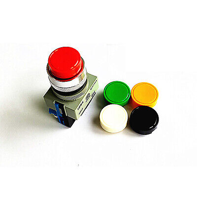 H●  IDEC ABW210-R 22mm Pushbutton Red  New