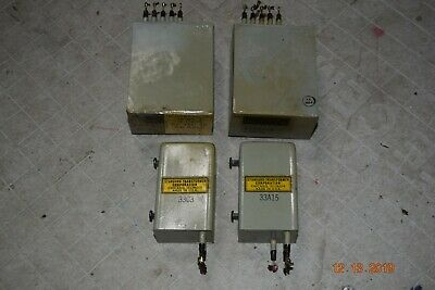 4 vintage 1950's western electric transformers input output standard thordarson
