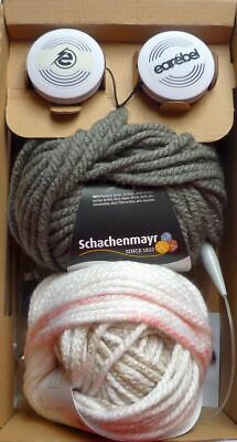 Earebel Knitting Set for 2 Hats with Removable