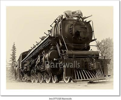 Vintage Style Photo Of Steam Train Art Print Home Decor Wall Art Poster - C