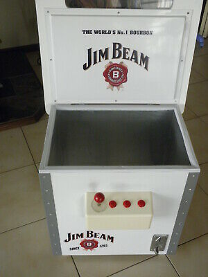 Cooler Jim Beam Arcade Pacman Promotion,Check Photos For Condition,