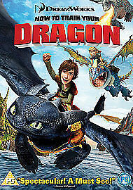 How To Train Your Dragon (DVD, 2008) D12-19 #CE