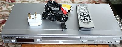 Panasonic Dvd / Cd Player Model Dvd S27 With Remote Plays All Regions