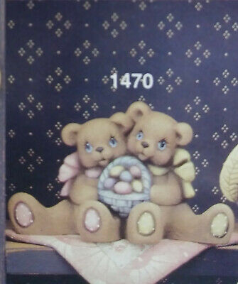 Ceramic Mold April Cuddle Bears Clay Magic Mold 1470 used