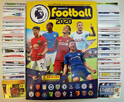Panini Premier League Football 2020 complete set of 636 stickers & album 2019/20