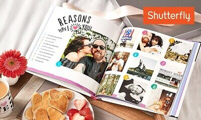 Shutterfly 8x8 Hard Cover Photo Book Code Expires January 31, 2020!