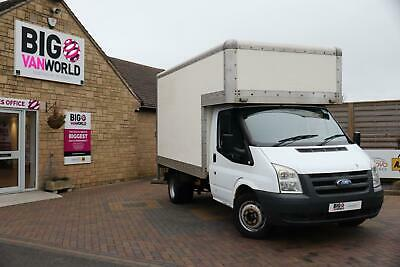 2008 Ford Transit 350 Tdci 100 Mwb Luton With Tail Lift Drw Rwd Luton Diesel