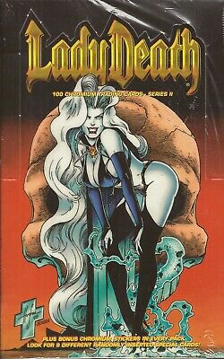 Lady Death Series 2 -  Krome 1995 Factory Sealed Box
