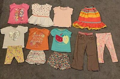 Bundle Of Girls Clothes,12 Items,Age 2-3 Years,Next, Matalan,F&F,George,Gap Etc