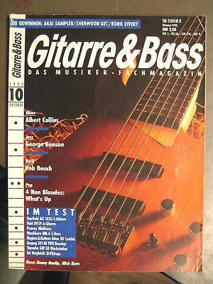 Gitarre & Bass 1993 # 10 - Albert Collins Washburn Mb-6