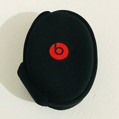 Genuine Beats By Dr. Dre Wireless Headphone Soft Carrying Case Black
