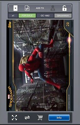 Uncommon - MARVEL Collect! - Spider-Man Homecoming Box - No. 20 - CC3000