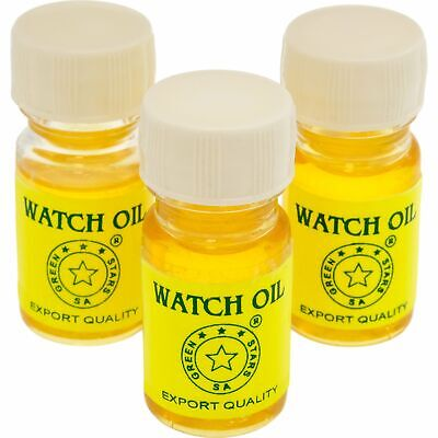 3 Bottles of Anchor Watch Oil Movement Lube Watchmakers Repair Tool10ml