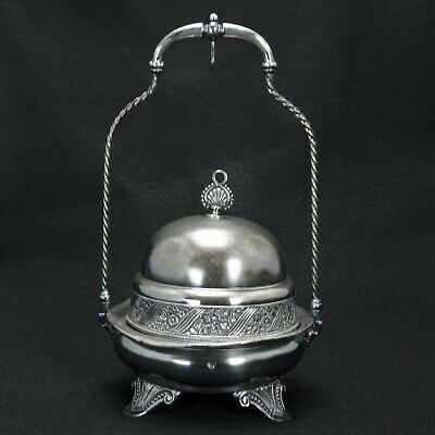 Victorian Silver Plate Butter by James Tufts Circa 1870