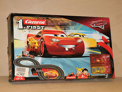 Cars Carrera First 1 Race Track Slot Car Game, Disney Pixar, Lightning McQueen