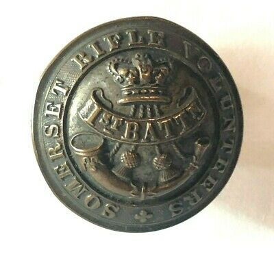 1860's 1st Battalion somerset Rifle Volunteers Button 26 mm w Jones & Company