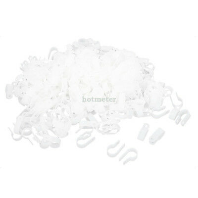 H● 1000* ReplacementWhite Plastic R Clip Clamp for 16mmWire Hose Tube