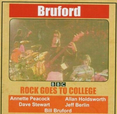 CD -  Rock Goes to College Bill Bruford w. HOLDSWORTH Jeff Berlin PEACOCK