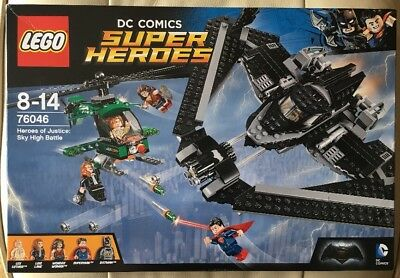Lego 76046 Heroes Of Justice Sky High Battle Brand New Still Sealed Set