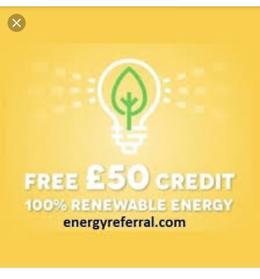 Bulb Energy Supplier Promo Code Coupon £50 Credit Voucher Save Energy Bill