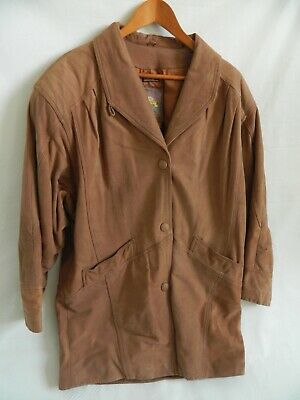 Womens Adventure Bound Thinsulate Leather Jacket by Wilsons Size M