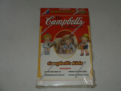 1995 Campbells Soup Collector Cards Box Of 36 Packs Factory Sealed