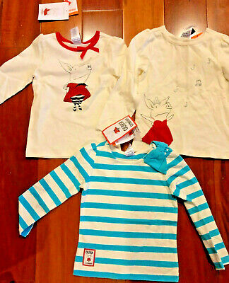 Gymboree girl red cutie shirt top size 2 2T NWT 100/% cotton