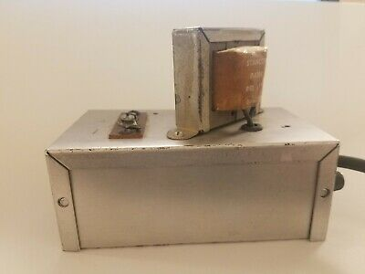 Unknown Electronics Transformer Box With Stancor P8384