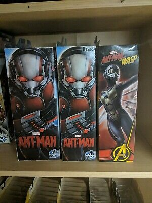 MARVEL SELECT LOT Antman, Ant-Man Disney Exclusive, The Wasp By Diamond Select