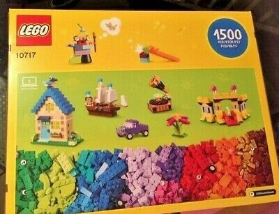 LEGO Classic Mixed Bricks 10717, 1500 Pieces Boys Girls Kids Coloured Lego