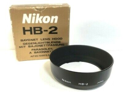 【N MINT】Nikon HB-2 Lens Hood for AF Zoom-NIKKOR 35-105mm f3.5-4.5 from japan