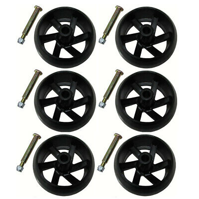 4 Smooth Deck Wheels for Electrolux Poulan Husqvarna 532133957 532174873 Mower