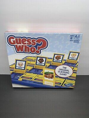 Guess Who Board Game Children Family Party Kids Fun Hasbro The Original Guessing