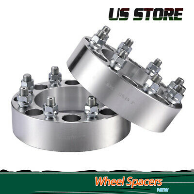 2 PC WHEEL SPACERS 6x5.5 OR 5x5.5 6MM 5 AND 6 LUG SAME DAY FREE SHIPPING