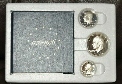 SKU #1156 1976 Bicentennial Silver Proof Set