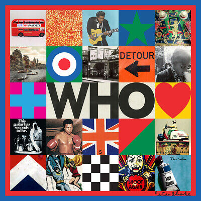 *SEALED*  Who by The Who Physical CD Album 2019 Factory Sealed  FREE SHIP!!!