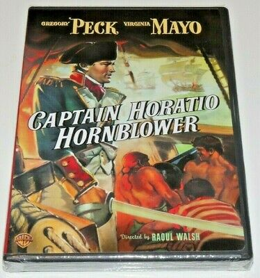Captain Horatio Hornblower ~ New DVD ~ Gregory Peck (1950) FREE SHIPPING!