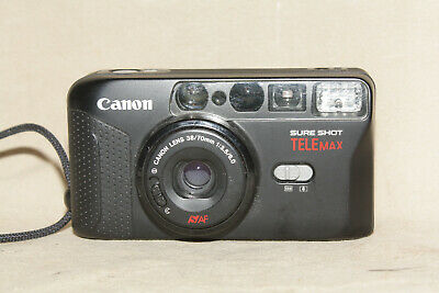 CANON SURESHOT TELEMAX 35mm POINT AND SHOOT CAMERA VG 9350