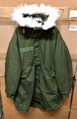 Genuine Large M65 US armyMod Fishtail Parka with liner