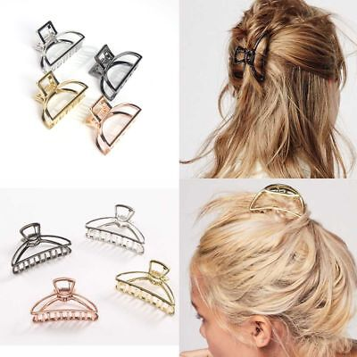 Women New Hair Accessories Metal Modern Stylish L//S Hair Claw Clips Hairband LZ