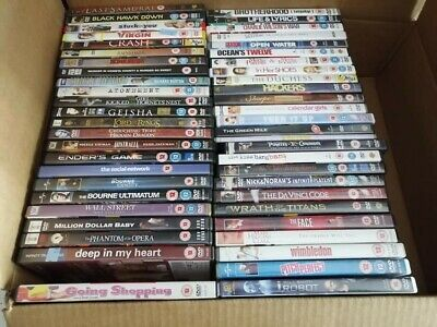 DVD bundle - Pack of 50 Pre Loved DVDs, Wholesale - Mixed Category Joblot #50/04
