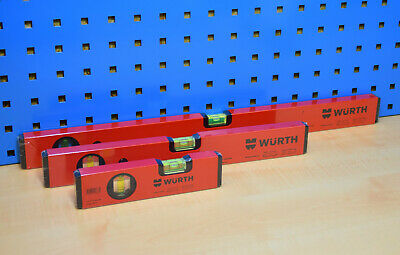Würth Bubble Level Aluminium Alloy Robust Milled Different Lengths Selectable