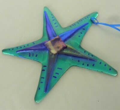 Star Fish Fused Glass Sun Catcher