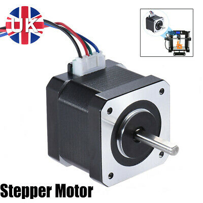 17step Stepper Motor Nema 17 42mm 4-Wire 0.9A 3.96V For 3D Printer Replace D4M9