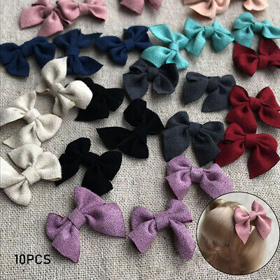 Cosmetic DIY Hair Clip Doll Bow Decoration Leather Headwear Headclip