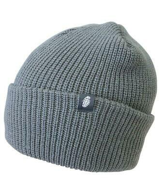KOMBAT TACTICAL BOB HAT GREY COLD WEATHER PROTECTION 100% ACRYLIC beanie hat