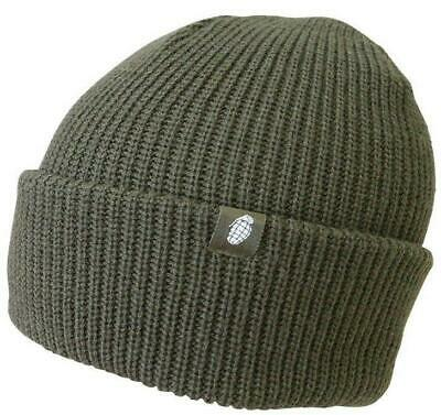 Kombat Tactical Bob Hat Olive Green Cold Weather Protection 100% Acrylic